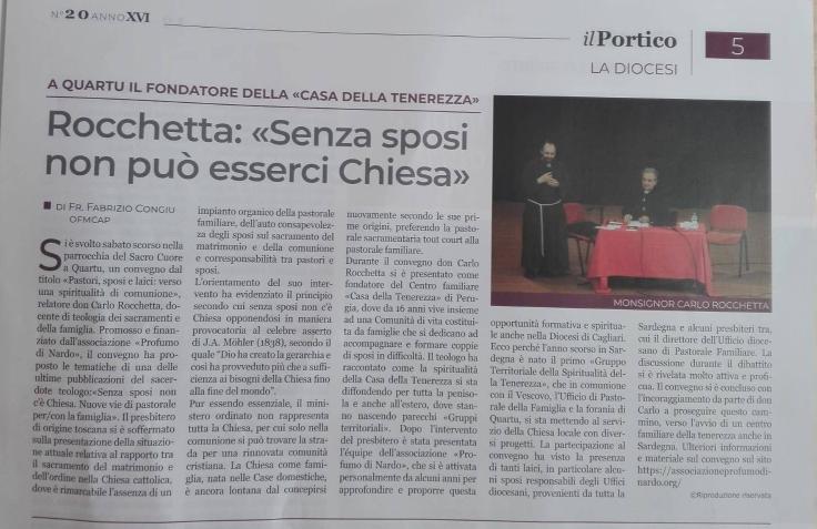 Articolo Portico Convegno Rocchetta