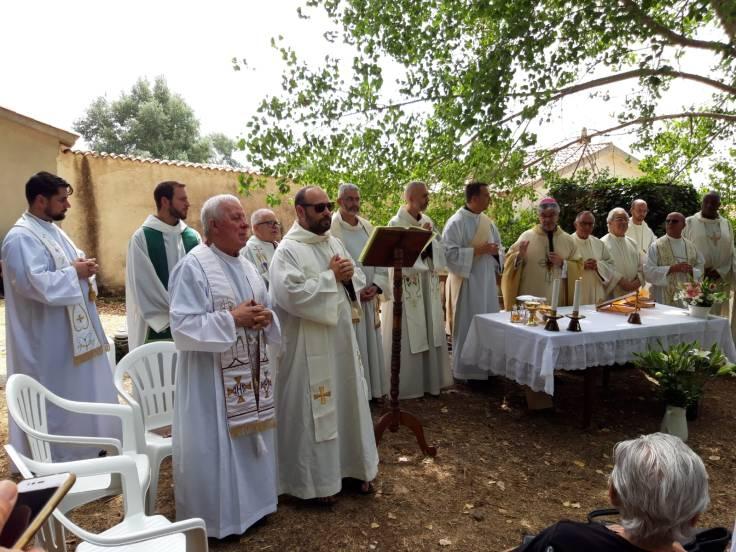 Celebrazione Eucaristica a Monte Rasu