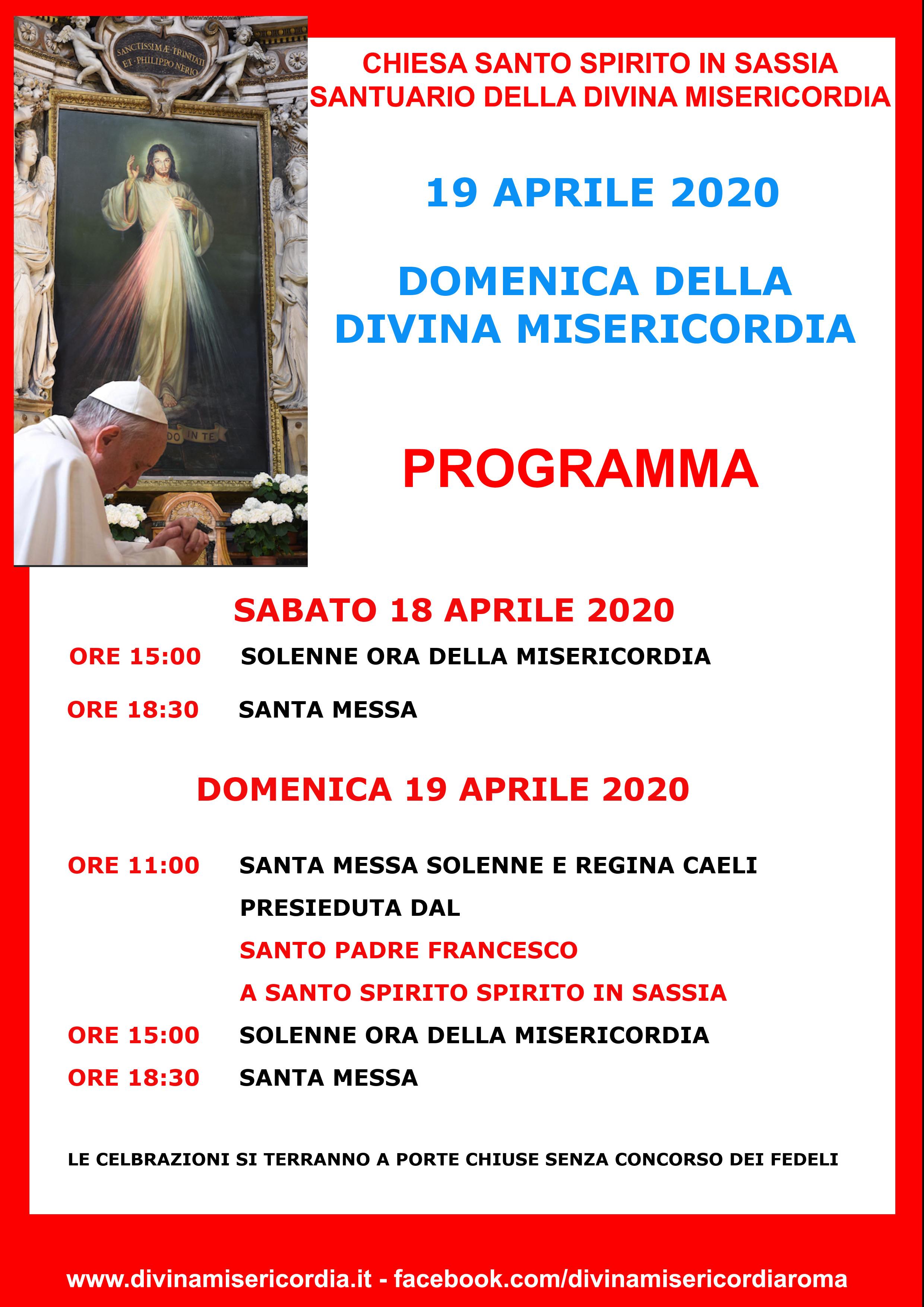 programma Divina Misericordia