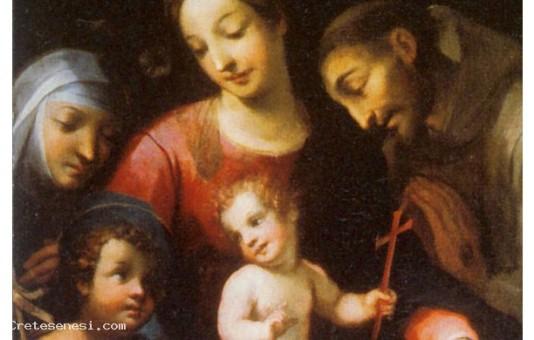 Madonna col Bambino, San Giovannino, San Francesco e Santa Caterina da Siena
