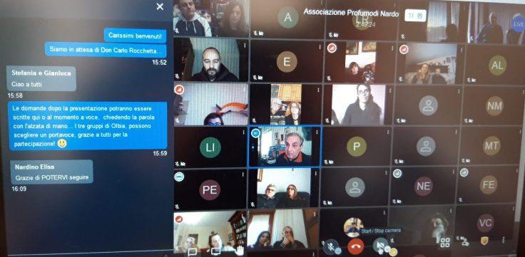 Videoconferenza con Don Carlo 16 gennaio
